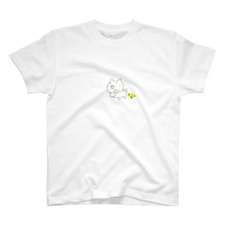 のらちびとぴぴぴのダンス T-shirts