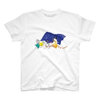 ねこ2 T-shirts
