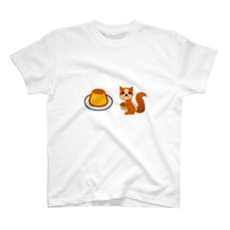 プリンは飲み物 T-shirts