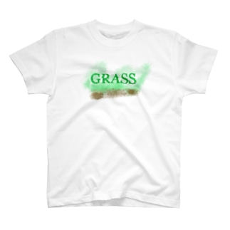 K Logo design factoryのGRASS T-shirts