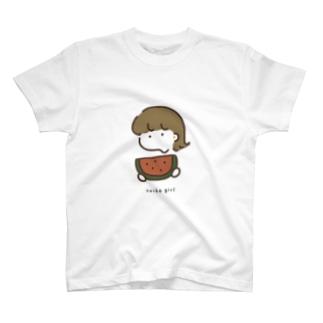 🍉: スイカガール T-shirts