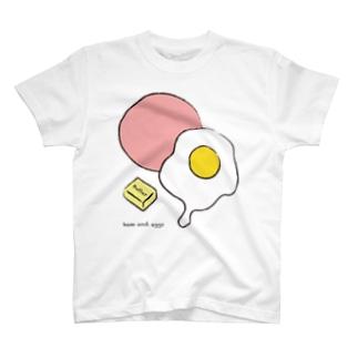 ハムエッグ T-shirts
