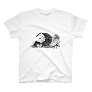 オールドバード・ヤングキッド T-shirts