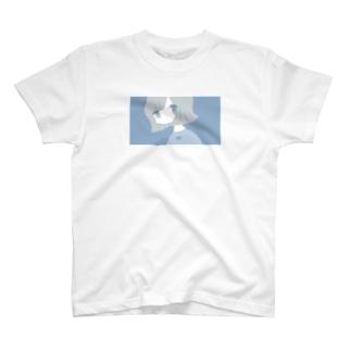 ブルーフローライト T-shirts