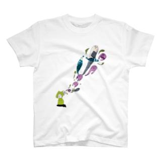 頭パーーンTシャツ T-shirts