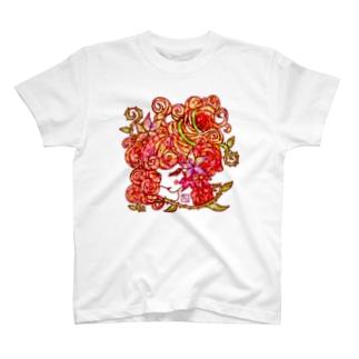 ❀花狐庵❀-HanaKoAn-のT-shirts