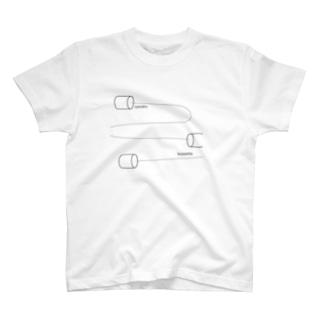 go astray スマホこわれた T-shirts