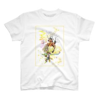 Kota art shopの夢見 - frame T-shirts