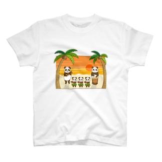 フラパンダ T-shirts