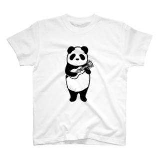 ウクレレパンダ T-shirts