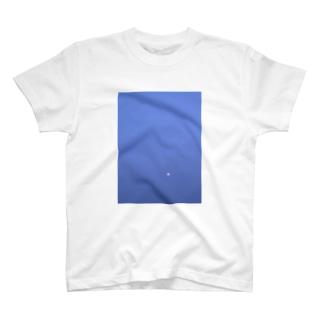 夕暮れの月 T-shirts