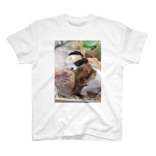 ムギュムギュでふ T-shirts