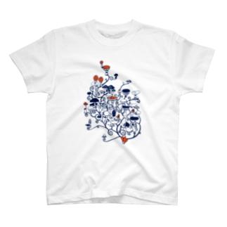 キノコタウン T-shirts