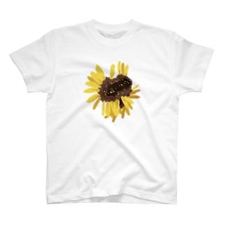 奇形のひまわり T-shirts