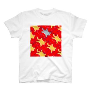 爪のするどいモモンガの群れ T-shirts