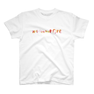 welcomefive カラーT-shirt T-shirts