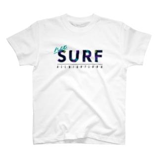 ネットサーフ(絵の具) T-shirts