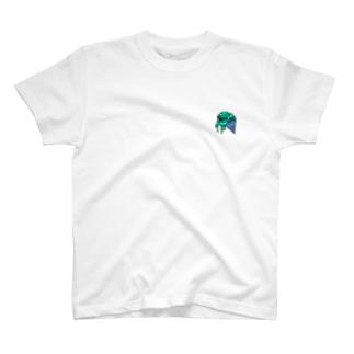 溶けちゃう チョコミント T-shirts
