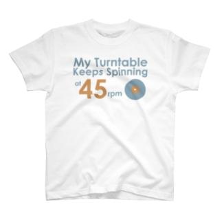 アナログ45回転 T-shirts