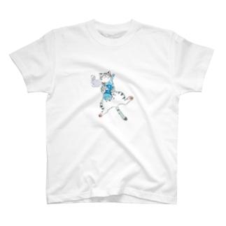 よいどれ猫・アメショー T-shirts