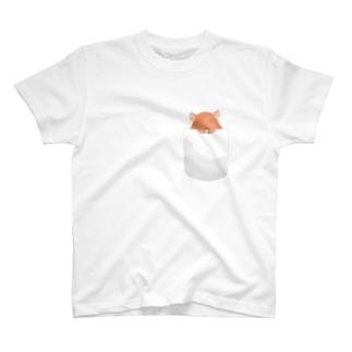 ポケットにメンダコちゃん T-shirts