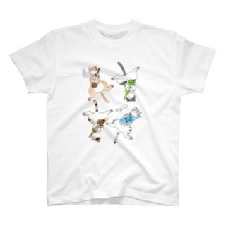 よいどれ猫 T-shirts