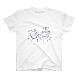 ワシャワシャ T-shirts