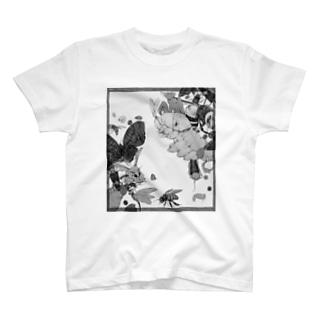 白黒虫 T-shirts