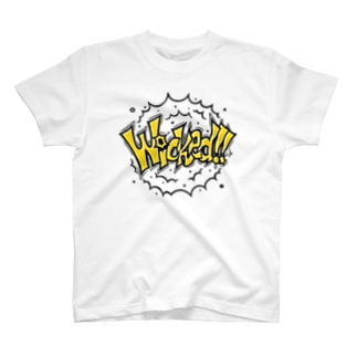 Wicked!! 淡色ベース T-shirts
