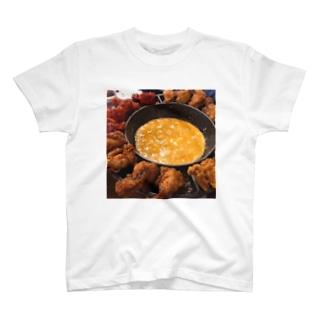 飯テロ・UFOチキン T-shirts