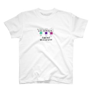 ドットガールちゃん T-shirts