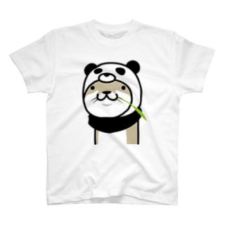 カワウソぱんだ T-shirts