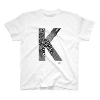 ゴシックのK T-shirts