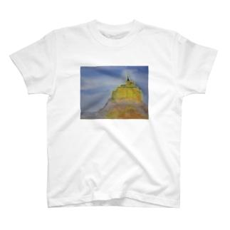 モンサンミッシェル T-shirts