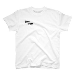 前ロゴ、るびたんを背負ってT T-shirts