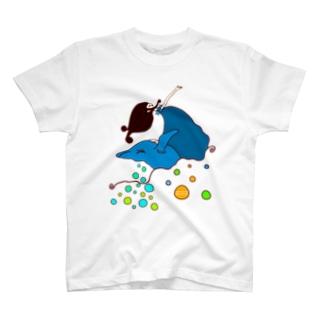 鯨とDance♡ T-shirts
