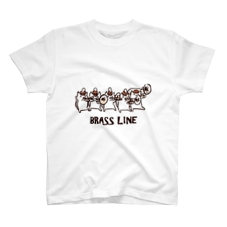 ブラスラインねこさん T-shirts