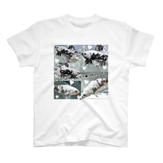 ベタ★ブラック☆サムライ T-shirts