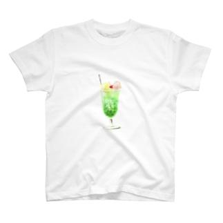 クリームソーダうぶげんTシャツ T-shirts