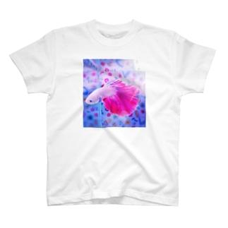 ベタ♡PINK T-shirts