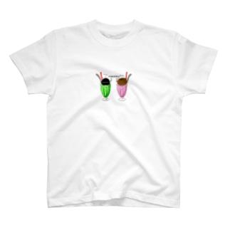 ウニらとクリら T-shirts