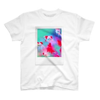潤沢 T-shirts
