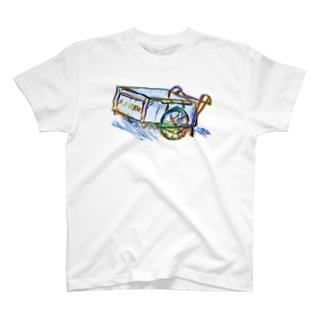 リヤカー T-shirts