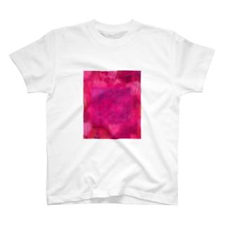 大々的タイダイ染め風 T-shirts