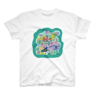 Osanpo-Nekoの朝ごはん T-shirts