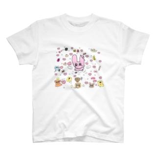 ぴよんではない T-shirts