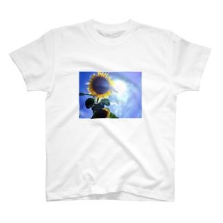 津南の向日葵 T-shirts