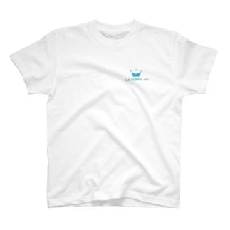 青ロゴ T-shirts