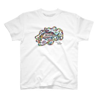 トライバルフィッシュ T-shirts