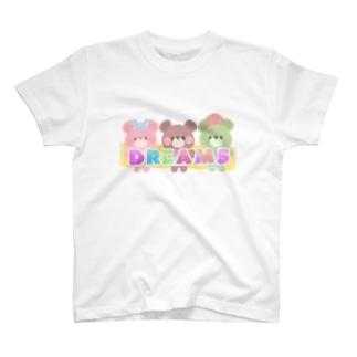 DREAMSてーしゃっつ T-shirts